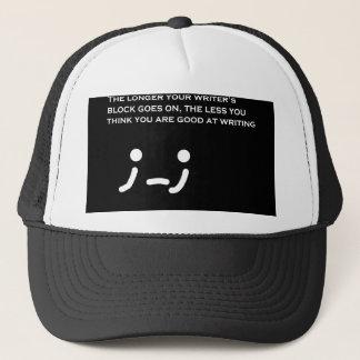 Writer's Block Author  Moment Hat