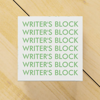 Writer's block favour box