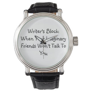 Writer's Block Watch