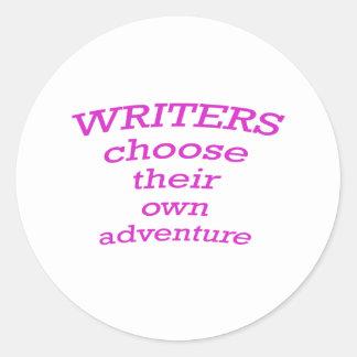 Writers Choose their own Adventure Sticker