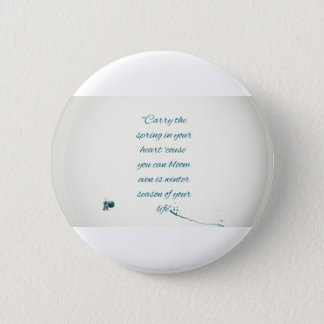 writers Quote 6 Cm Round Badge