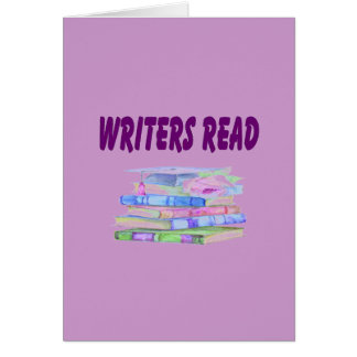Writers Read Collection Card