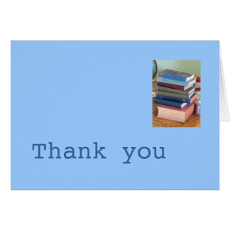 Writer's Thank You Card
