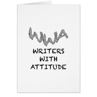Writers With Attitude Card