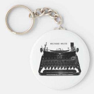 WRITERS WRITE keychain