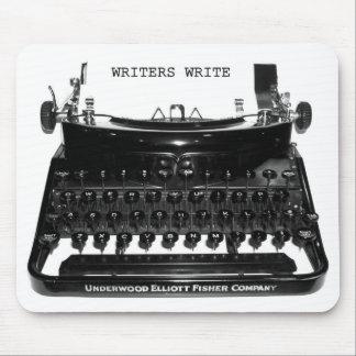 Writers Write Typewriter Mousepad