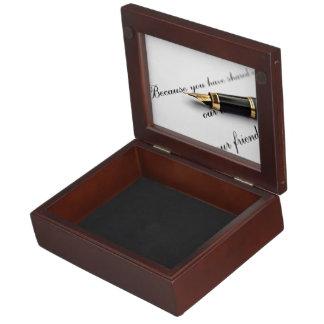 Writing About Friends Memory Box