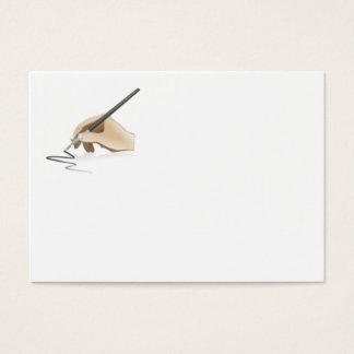 Writing Business Card
