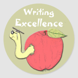 Writing Excellence Sticker
