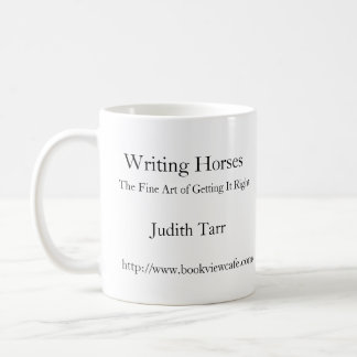 Writing Horses Coffee Mug