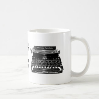 WRITING MACHINE Writer Mug