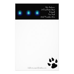 Writing Paper for Dog Lovers