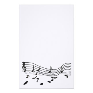 Writing paper for music friends stationery paper