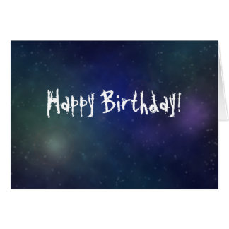 Written in the Stars Birthday Card