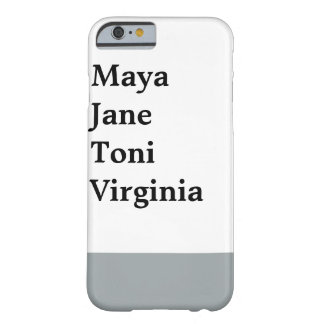 Written word dipped barely there iPhone 6 case