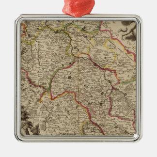 Wroclaw Poland Metal Ornament