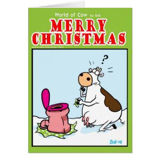 Wrong Christmas present Card