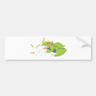 Wrong Frog Bumper Sticker