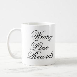 Wrong Line Mug