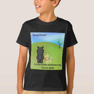 Wrong Planet? Autism Assistance Dogs T-Shirt