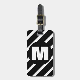 WS2 Monogrammed Bag Tag