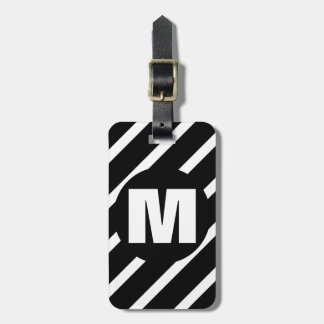 WS2 Monogrammed Luggage Tag