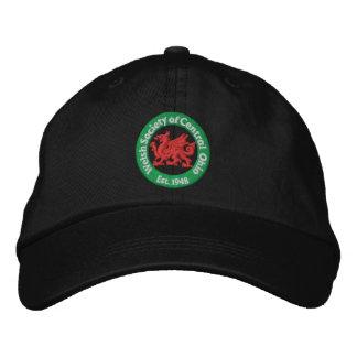 WSCO Logo Ball Cap - Black Embroidered Cap