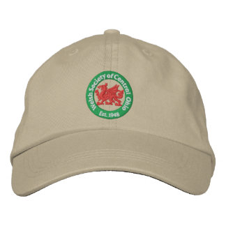 WSCO Logo Ball Cap - Khaki Embroidered Baseball Cap