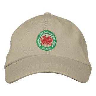 WSCO Logo Ball Cap - Khaki Embroidered Hat