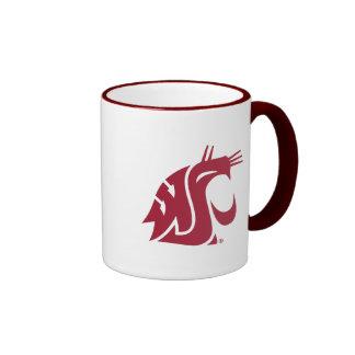 WSU Primary Mark - Red Mug