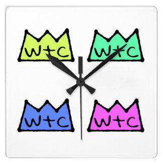 WtC Pop Art Clock