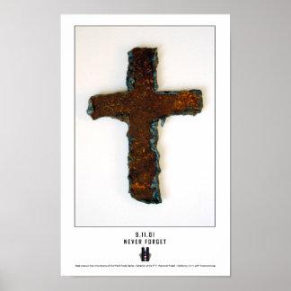 WTC Steel Cross Print