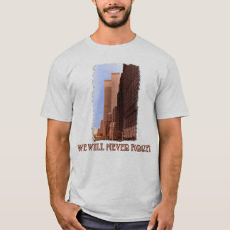 WTC Street View Never Forget 9/11 Tshirts