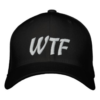 WTF 1337 Baseball hat Embroidered Hat