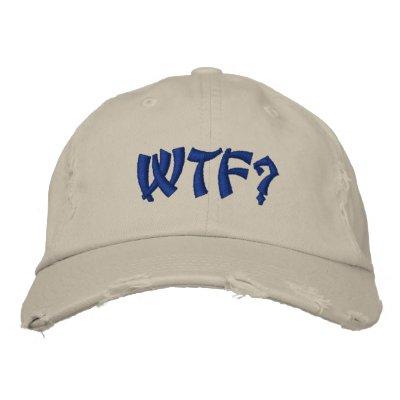 WTF? BASEBALL CAP