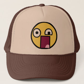 WTF Face Trucker Hat