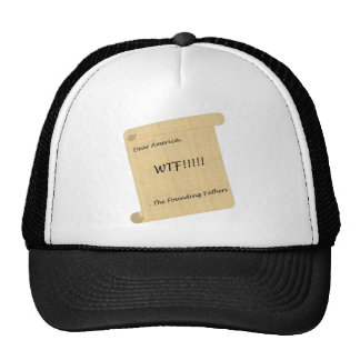 WTF!!! from the Founding Fathers Mesh Hat