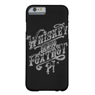 WTF funny vintage tattoo style quote drawing Barely There iPhone 6 Case