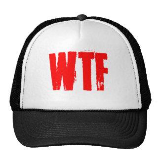 WTF TRUCKER HAT