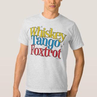 WTF Pilot Speak Whiskey Tango Foxtrot Shirts