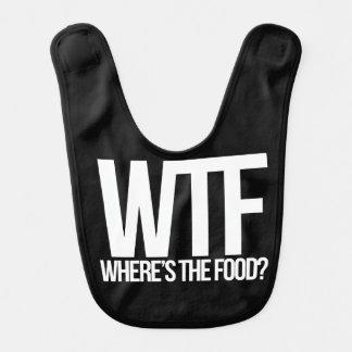 WTF where's the food Bib