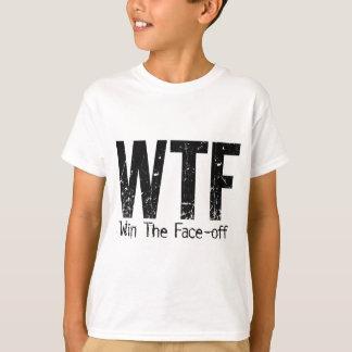 WTF: Win The Face-off (Hockey) T-Shirt