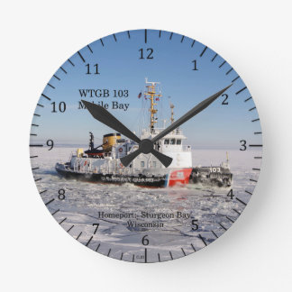 WTGB 103 Mobile Bay clock