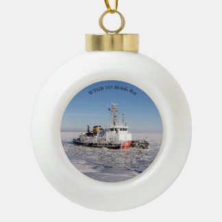 WTGB 103 Mobile Bay ice ball or snowflake ornament