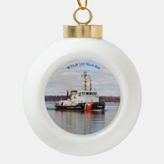 WTGB 105 Neah Bay ball or snowflake ornament