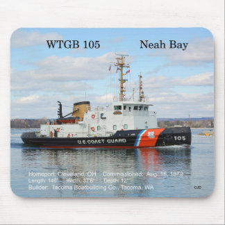 WTGB 105 Neah Bay mousepad