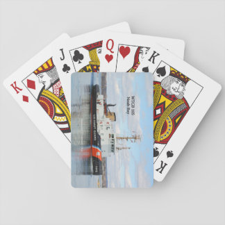 WTGB 105 Neah Bay playing cards