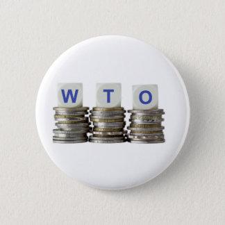 WTO - World Trade Organization 6 Cm Round Badge