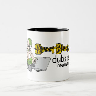 .wub .wub .wub Coffee! Two-Tone Coffee Mug