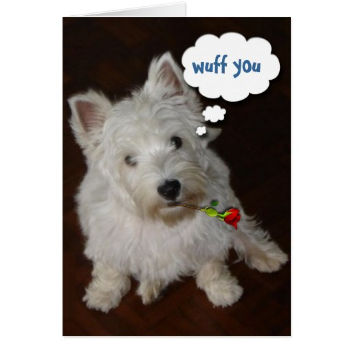 Wuff You Greeting Cards